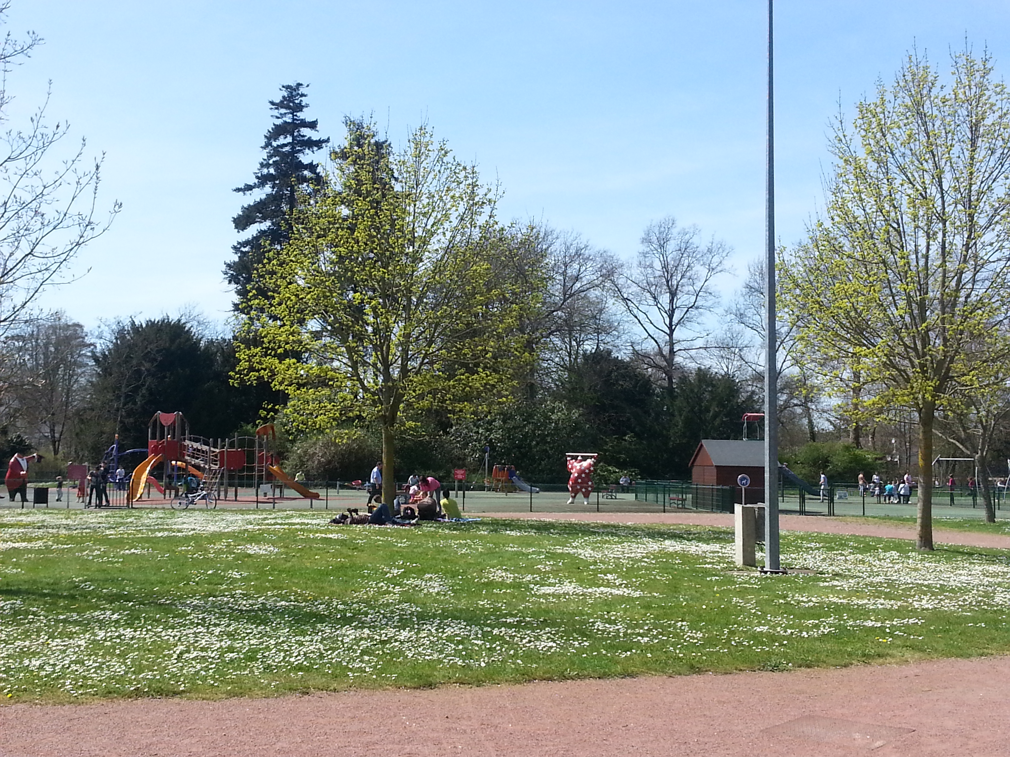 Jardin municipal Les Rives de Saint Avertin à proximité de Tours