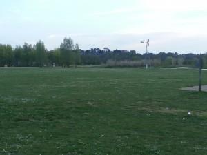 parc de la gloriette bien vert à Tours