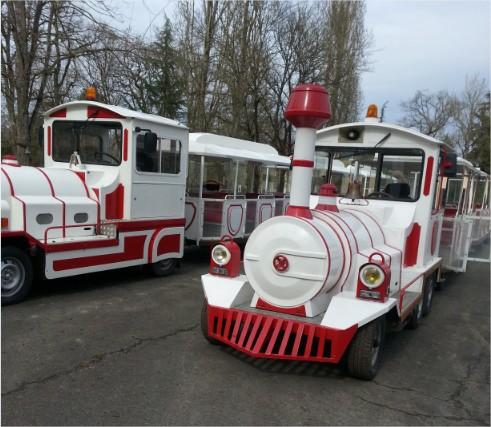 Les trains de la réserve de Beaumarchais situé à Autrèche - à proximité de Tours