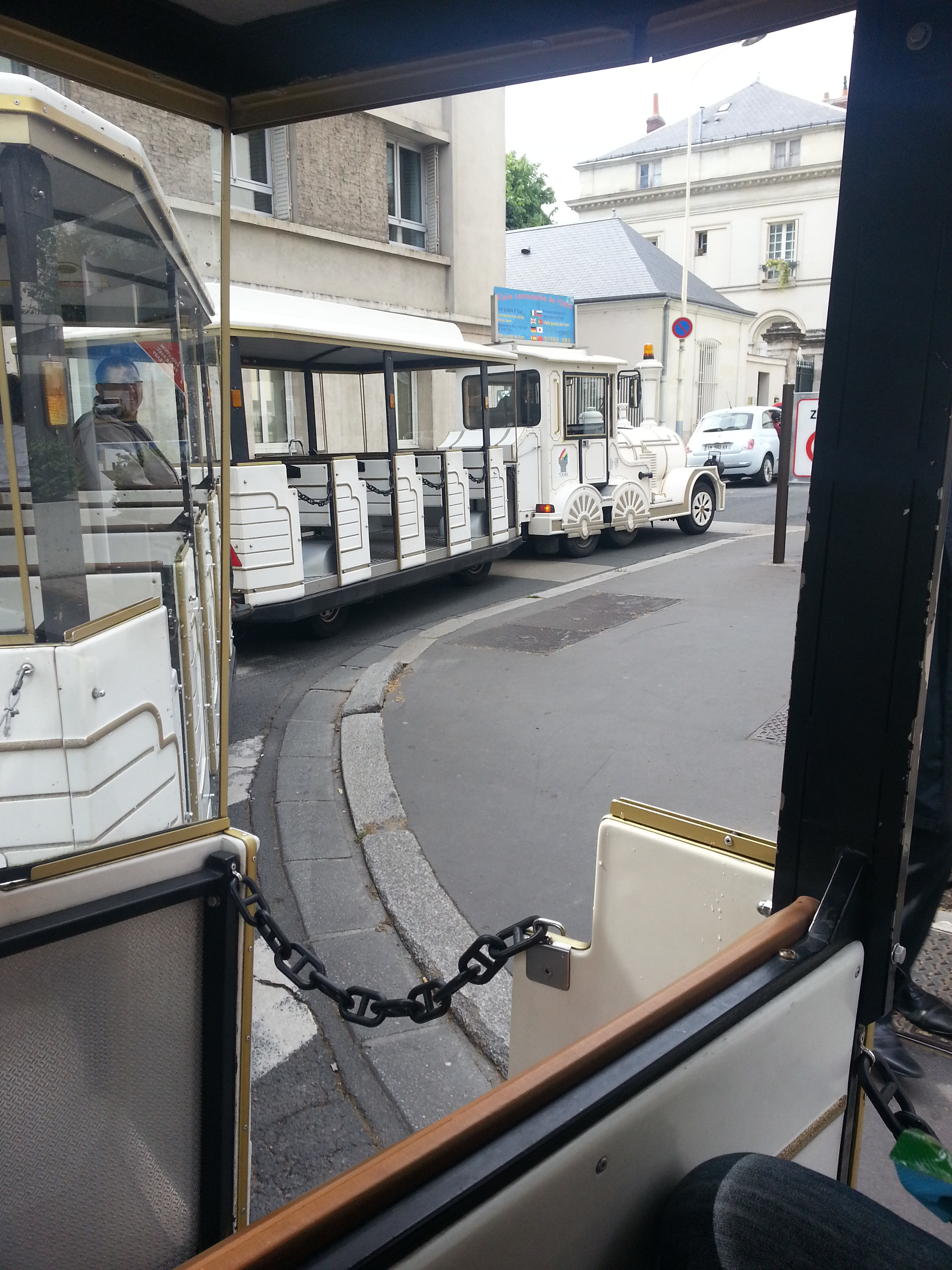 le petit train de Tours