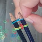 etape11 rainbow loom