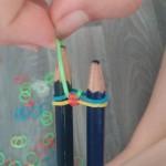etape15 rainbow loom