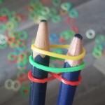 etape4 rainbow loom