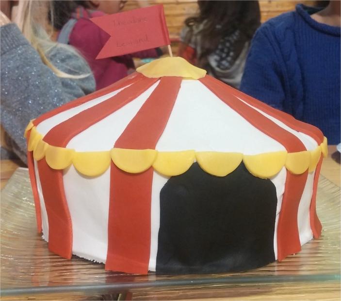 anniversaire au Cirque de Luynes