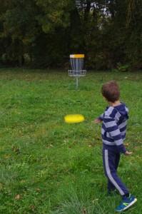 Parcours de Disc Golf au Bocage de la Gloriette à Tours