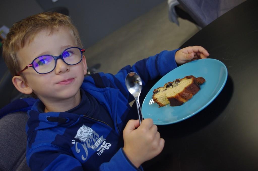 gâteau fait maison au Café Pouce