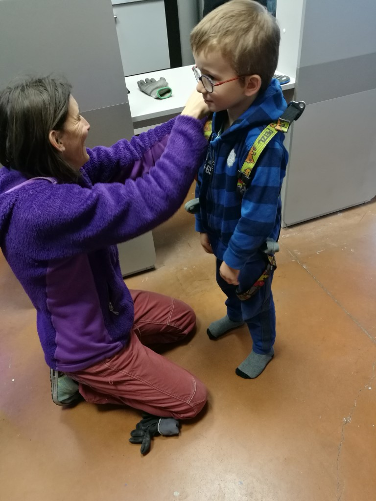 Baudrier escalade enfant Tours