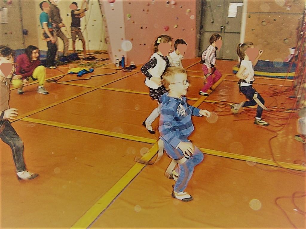 Jeux escalade anniversaire enfants Tours