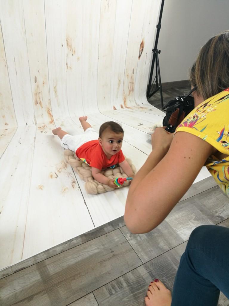 Photographie Langeais bébé enfant handicap